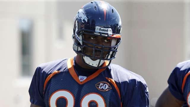 Broncos' McBean Arrested On Stalking Complaint