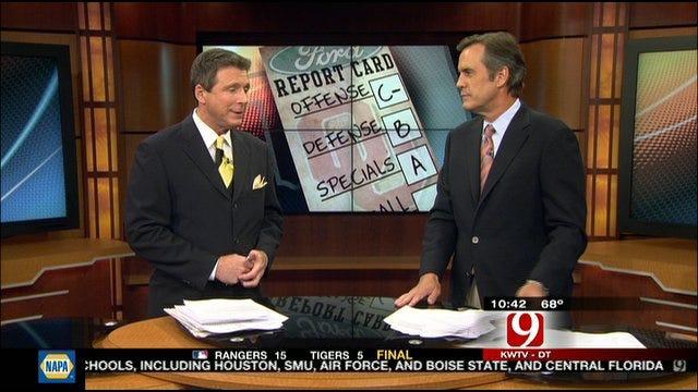 Oklahoma Report Card Against Kansas