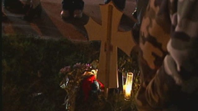 Protest, Candlelight Vigil Held For Bethany Girl Killed, Found In Bag