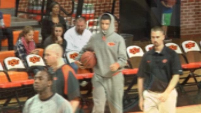 OSU's Guerrero At Practice But Not On The Court