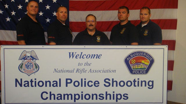 Norman Police Win National Police Shooting Championship Awards