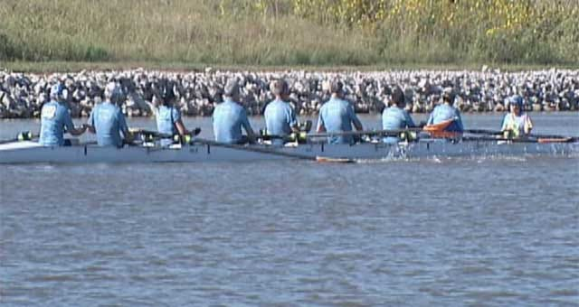 Visually Impaired Rowing Team Competes On Oklahoma River