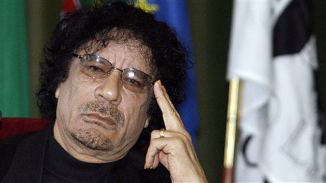 Cell Phone Video Released Of Wounded, Bloody Muammar Qaddafi