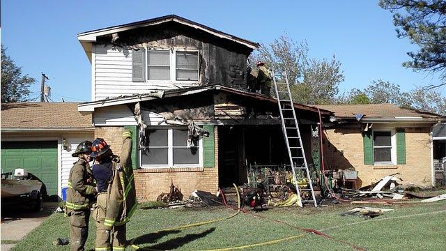 Fire Damages Southwest OKC Home