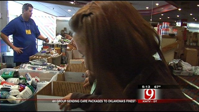OK Hugs Project Gets Helping Hand