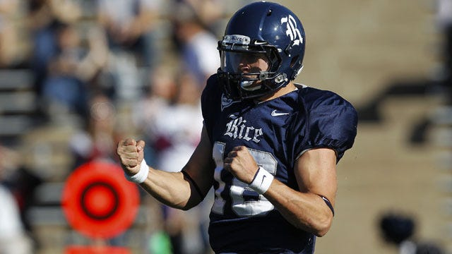 Vitals: Tulsa Golden Hurricane at Rice Owls