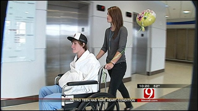 Young Heart Patient Counts His Blessings