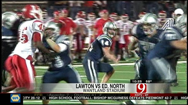Lawton Hands Edmond North First Loss With Blocked Field Goal