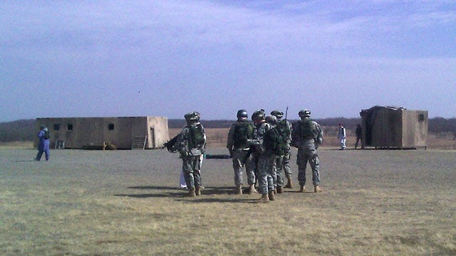 Oklahoma Soldiers Play Role In Iraq Withdrawal