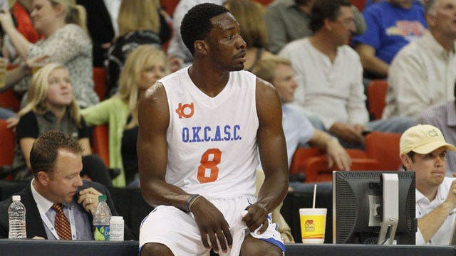 NBA In OKC Charity Game Notebook