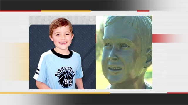 Noble Family Unveils Bronze Statue In Honor Of Son Killed