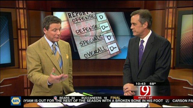 Oklahoma Report Card Against Texas Tech