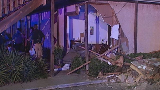 Car Crashes Into Woman's Bedroom In Northwest OKC