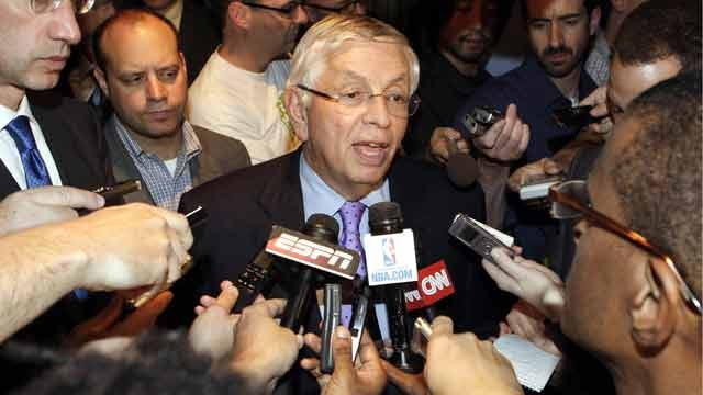 NBA Talks Stall, Stern Cancels More Games