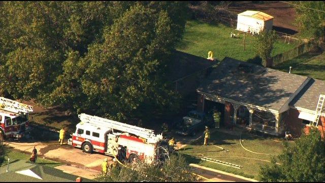 Person Burned In Southwest OKC Fire