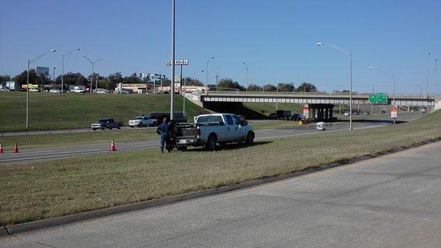 Hazardous Materials Spill Shuts Down Parts Of I-44, OKC Street
