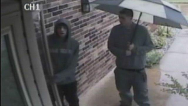 Homeowner's Security Cameras Capture Video Of OKC Burglary Suspects