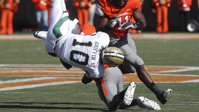 Oklahoma State Upends Baylor To Stay Unbeaten