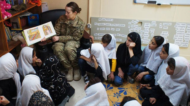 Teaching English Becomes Soldiers' New Mission In Afghanistan