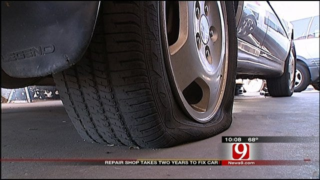 Consumer Watch: Bethany Auto Repair Shop Takes Years Fixing Customer's Car