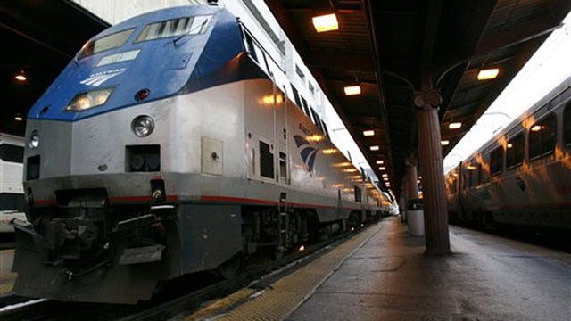 Amtrak Says It Has No Beef With Cow-Powered Train