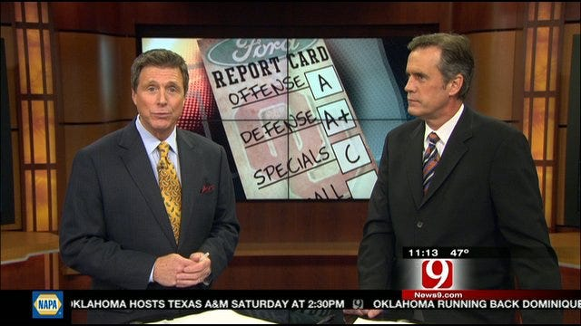 Oklahoma Report Card Against Kansas State