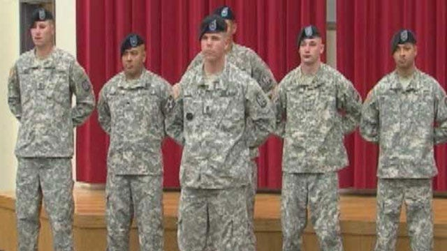 More Oklahoma Soldiers To Be Deployed To Iraq