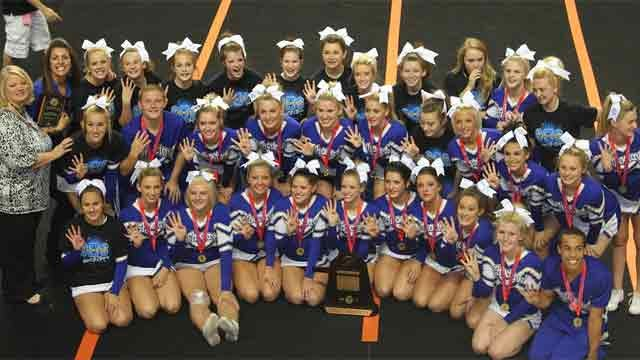 Seven Cheerleading Squads Take Home State Titles