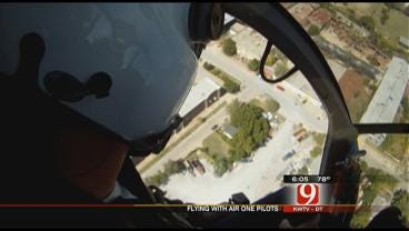 Air One Choppers OKC Police Departments Eyes In The Sky