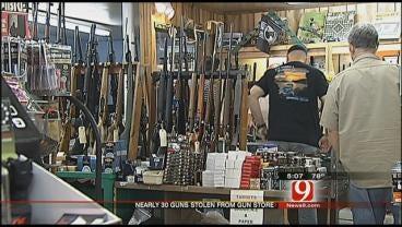 Bethany Gun Store Theft Leaves Owner Reeling