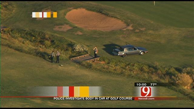 Car Plows Through OKC Golf Course, Dead Body Found Inside