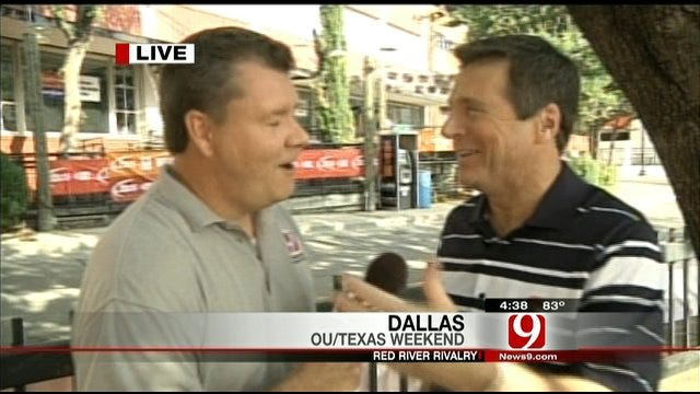 Dallas Traffic And OU-Texas Trivia