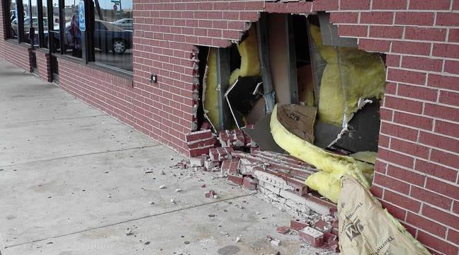 Driver Crashes Into OKC Family Dollar Store