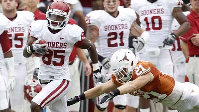 Sooners Dominate Texas In Red River Rivalry