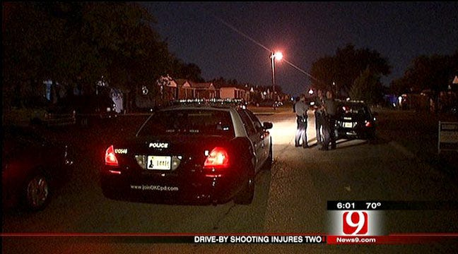 Two Wounded In OKC Drive By Shooting