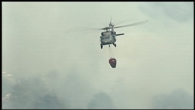 OHP Investigates Reports Of Shots Fired At Firefighting Helicopters