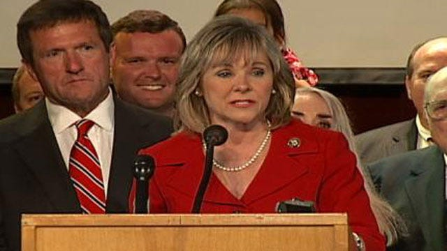 Oklahoma Governor To Tour Wildfire Damage
