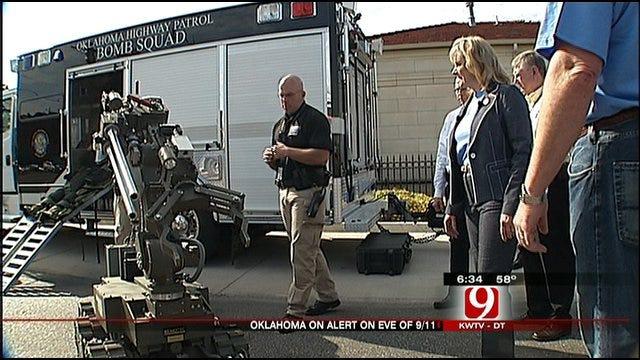 Emergency Preparedness On Display At Governor's Mansion