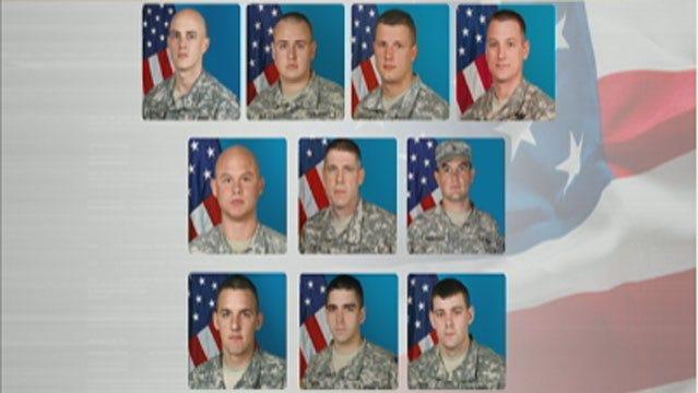 Oklahomans Raise Money To Help Families Of 45th Infantry Brigade