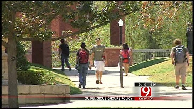 Student Organization In Disagreement With OU's Anti-Discrimination Policy