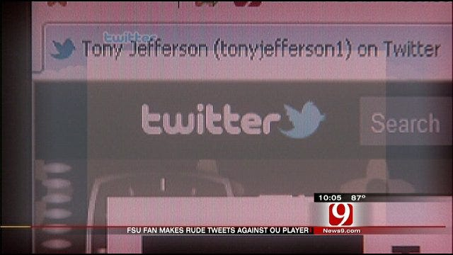Apparent Florida State Fan Sends Offensive Tweets To OU Player