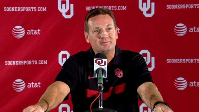 Bob Stoops Press Conference-Week 3