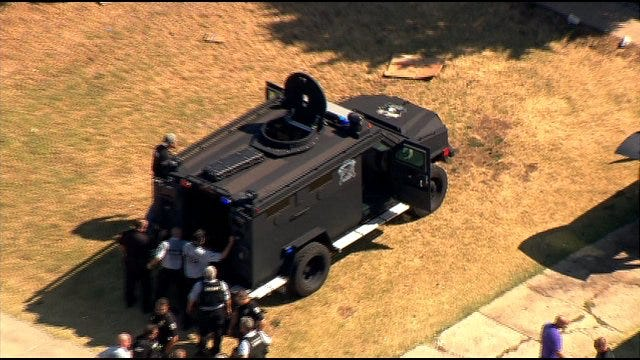 Standoff In OKC Ends With One Arrest