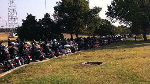 Hundreds Gather For Oklahoma's Own Ride Against Childhood Hunger