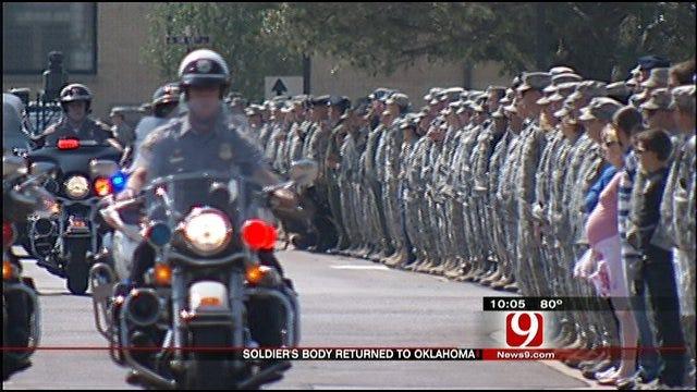 Seminole Soldier's Body Returns Home
