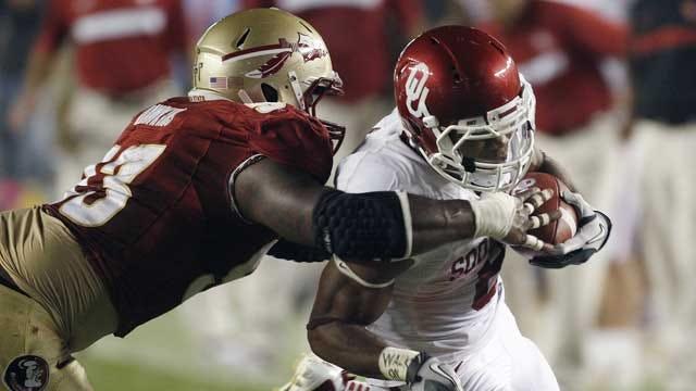 Kenny Stills' Big Catch Leads OU To 23-13 Win