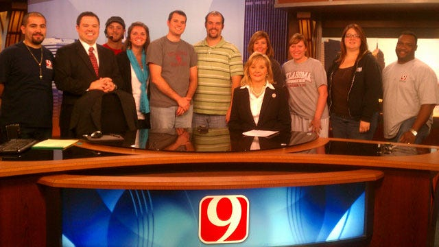 Governor Fallin Anchors News 9 This Morning