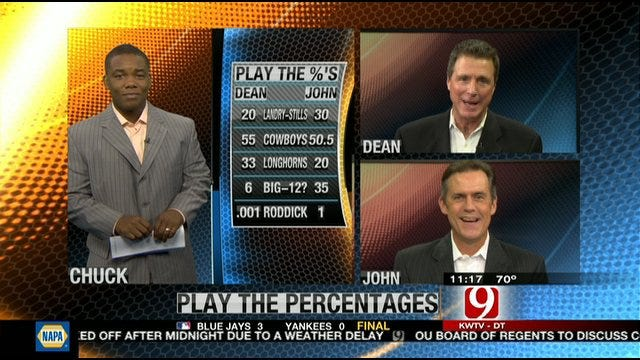 Play the Percentages: Sept. 18, 2011