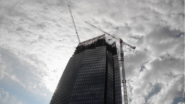 Devon Tower Officially Tops Out As OKC's Tallest Building