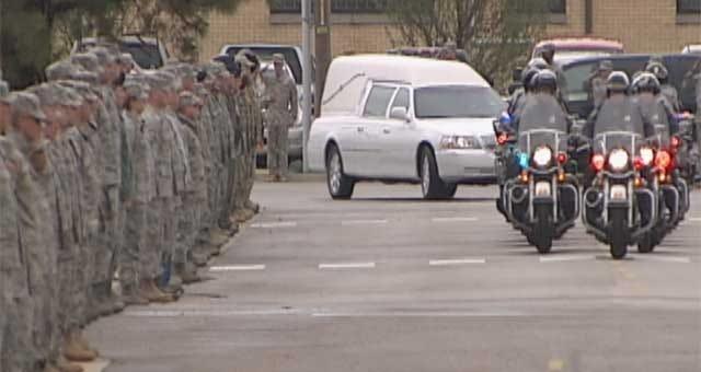 Body Of Fallen Minco Guardsman Returns To Oklahoma